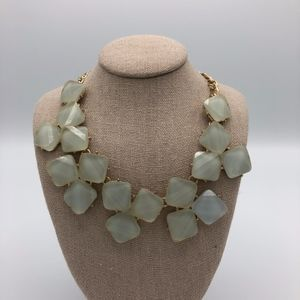 Francesca's Light Blue Statement Necklace